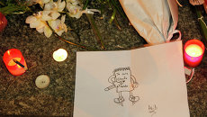 На месте теракта в Париже