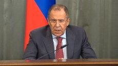 Мы ничего не будем обсуждать - Лавров об отмене санкций в отношении РФ