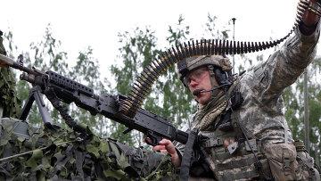 Военные учения войск НАТО в Литве. Архивное фото