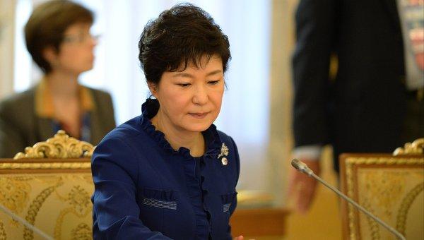 Президент Республики Корея Пак Кын Хе, архивное фото