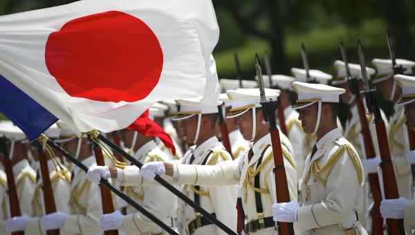 Почетный караул сил самообороны Японии. Архивное фото