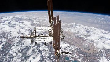 Международная космическая станция. Архивное фото.