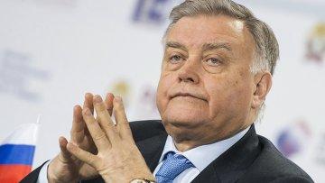 Президент ОАО РЖД Владимир Якунин. Архивное фото