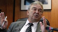 Генеральный директор ГКНПЦ им. М.В.Хруничева Владимир Нестеров