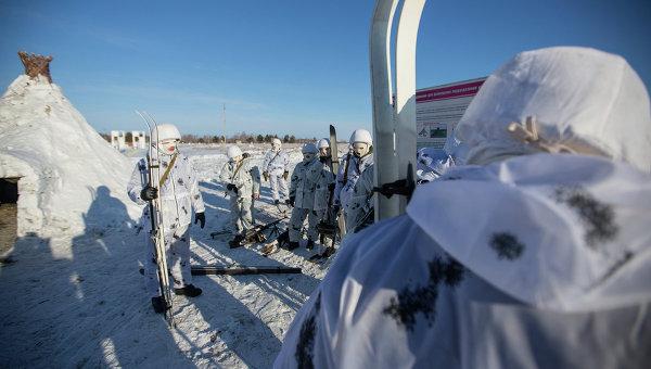 Российские военные в Арктике. Архивное фото