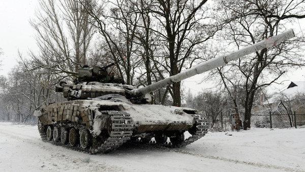 Танк Вооруженных сил Украины. Архивное фото