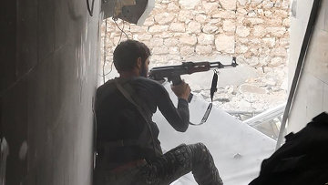 Боевик в Сирии. Архивное фото