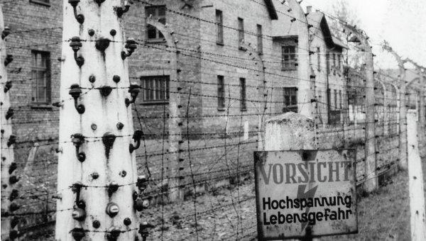 Концентрационный лагерь Освенцим. Архивное фото