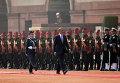 Президент США Барак Обама во время официального визита в Индию