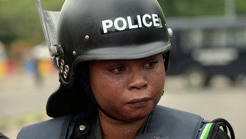 Полиция Нигерии. Архивное фото