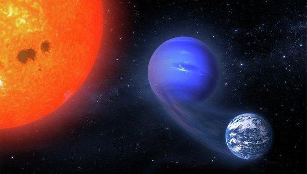 Так художник представил себе процесс превращения мини-Нептуна в землеподобную планету