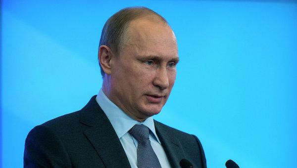 Президент России Владимир Путин. Архивное фото