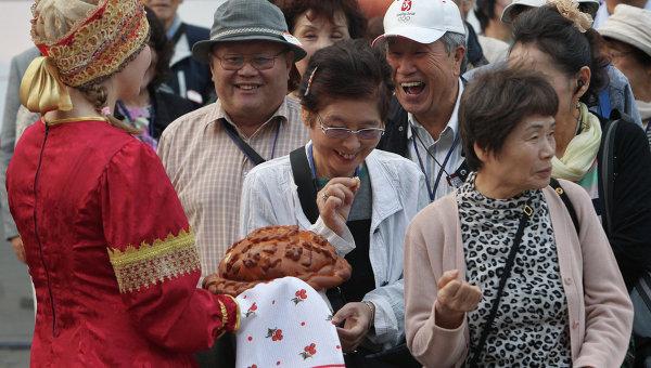 С каждым годом Россия становится все более популярной среди туристов из Китая