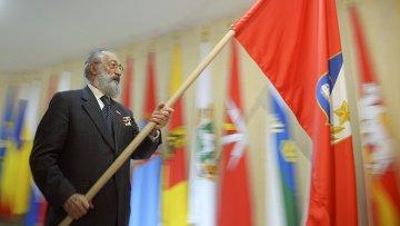 Флаг Крыма и Севастополя. Архивное фото