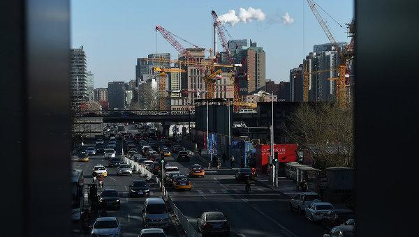 Вид на город Пекин. Архивное фото