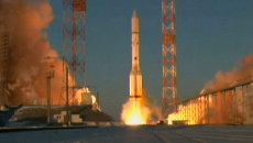 Первый в 2015 году Протон-М стартовал с британским спутником. Кадры запуска