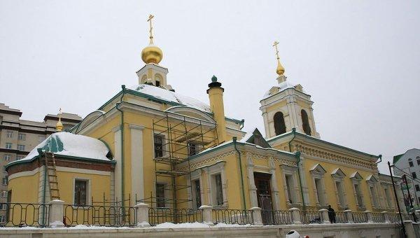 Воссоздание Преображенского храма на Преображенской площади в Москве