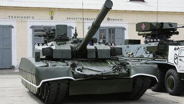 Танк Т-84У Оплот Вооруженных сил Украины. Архивное фото