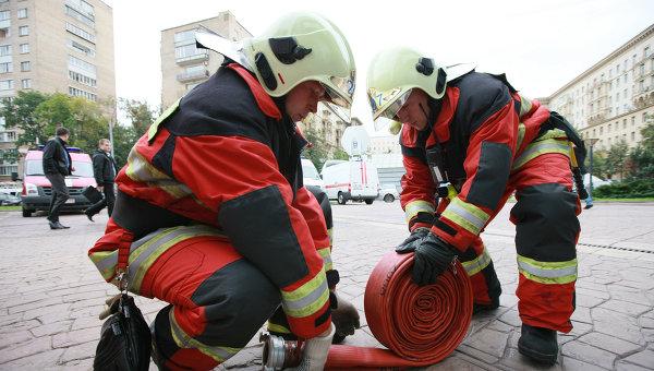 Пожарно-тактические учения МЧС. Архивное фото