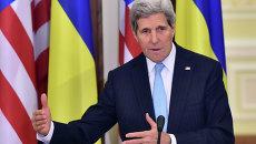 Государственный секретарь США Джон Керри на Украине. Архивное фото