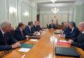 Президент России В.Путин провел заседание Совбеза РФ