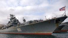 Сторожевой корабльЛадный на базе Черноморского флота в Севастополе. Архивное фото