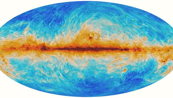 Реликтовое излучение Вселенной, искаженное под действием космической пыли