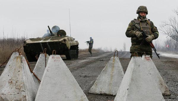 Украинские военные в Дебальцево. Восточная Украина, 6 февраля 2015