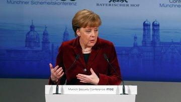 Ангела Меркель на Мюнхенской конференции, 7 февраля 2015