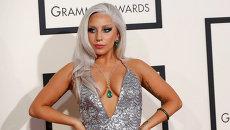 Певица Lady Gaga на 57-й ежегодной премии Грэмми. Лос-Анджелес, 2015 год