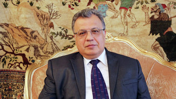 Посол РФ в Турции Андрей Карлов. Архивное фото