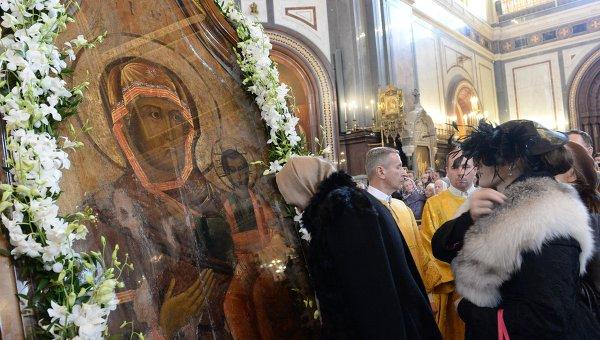 Празднества вчесть иконы Божией Матери «Одигитрии» прошли вСмоленске