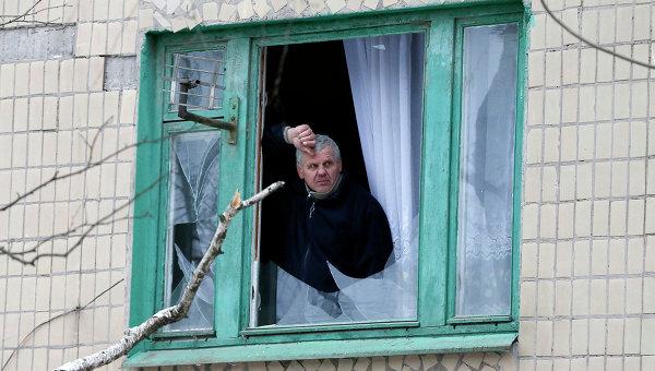 Последствия обстрела Краматорска