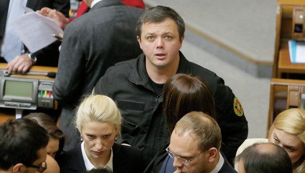 Депутат Верховной рады Семен Семенченко. Архивное фото