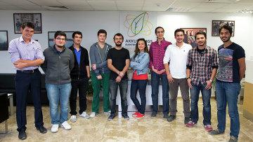 Группа турецких студентов. Архивное фото