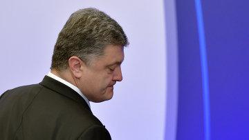Президент Украины Петр Порошенко на саммите лидеров ЕС в Брюсселе