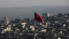 Турецкий флаг. Архив