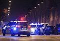 Полиция на месте стрельбы в Копенгагене, 15 февраля 2015
