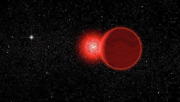 Красный карлик Звезда Шольца