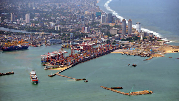 Шри-Ланка. Вид. Архивное фото