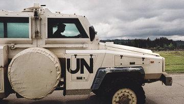 Миротворцы ООН, архивное фото