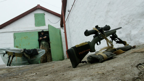 Оружие бойца ВСУ