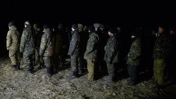 Военнопленные украинские силовики. Архивное фото