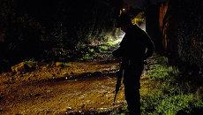 Колумбийский полицейский. Архивное фото