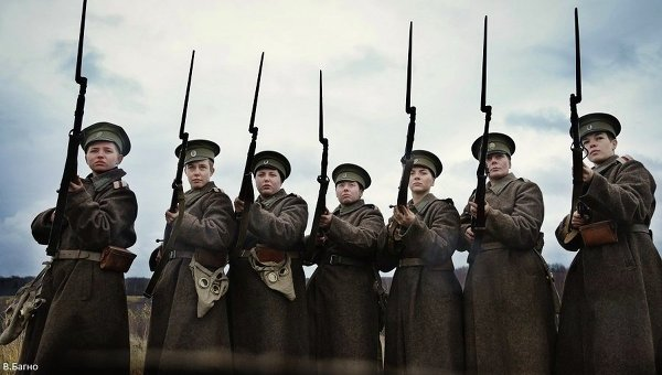 Кадр из фильма Батальонъ