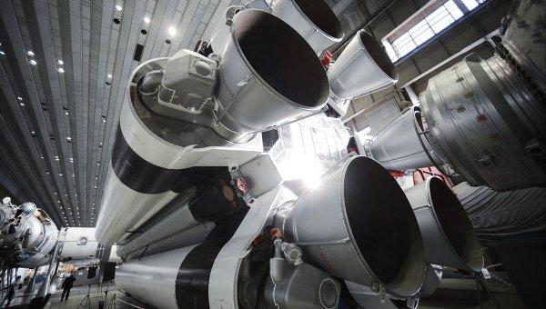 Сборка ракет-носителей, архивное фото