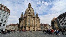 Города мира. Дрезден. Архивное фото
