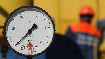 Газовое хранилище недалеко от деревни Бильче, во Львовской области. Украина. Архивное фото