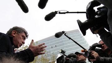 Сопредседатель Партии Народной Свободы (ПАРНАС) Борис Немцов