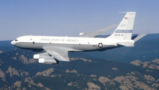 Американский самолет наблюдения Боинг ОС-135Б